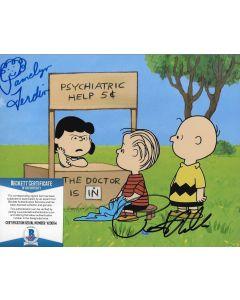 Pamelyn Ferdin Peter Robbins Charlie Brown Peanuts 8X10 w/Beckett COA #2