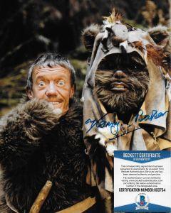 Kenny Baker R2D2 Star Wars (1934-2016) Star Wars w/Beckett COA