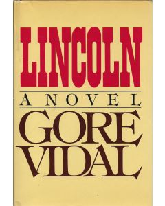 Lincoln BOOK signed by author Gore Vidal (Signature personalized to Craig Moderno)