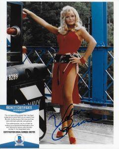 Valerie Perrine Superman 8X10 with Beckett COA #2
