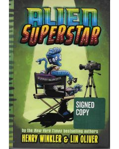 Alien Superstar BOOK signed by authors Henry Winkler & Lin Oliver