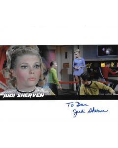 Judi Sherven Star Trek 8X10 (Personalized to Dan)