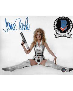 Jane Fonda Barbarella 8X10 photo w/Beckett COA 2