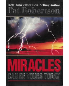 Miracles Can Be Yours Today BOOK signed by author Pat Robertson