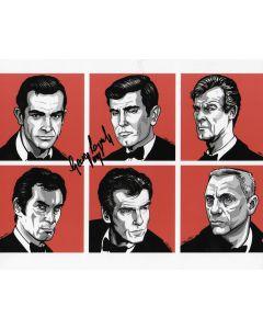 George Lazenby James Bond 007 8X10 #41