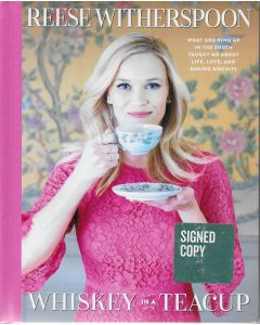 Whiskey Teacup BOOK signed by author Reese Witherspoon