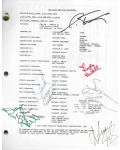 The Bold and the Beautiful Episode #4049 2003 original script signed by 6 cast members