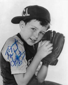 Jerry Mathers Leave it to Beaver (Slightly smudged and personalized to Jennifer)