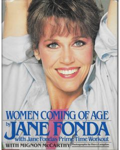 Women Coming of Age BOOK signed by author Jane Fonda (Signature is personalized to Craig)