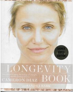 The Longevity BOOK signed by author Cameron Diaz