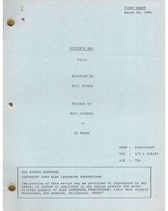 Sutter's Bay (1983) First Draft Pilot original script