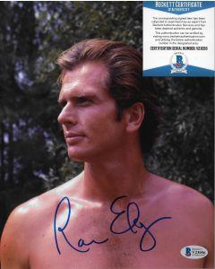 Ron Ely Tarzan 8X10 w/Beckett COA