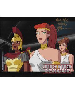 Julianne Grossman Justice League 8X10