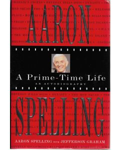 A Prime Time Life BOOK signed by author Aaron Spelling (Signature is personalized to Jason)