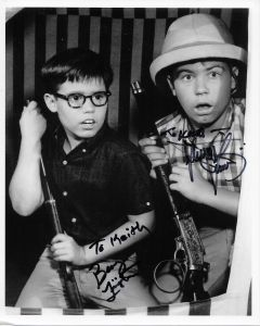 Barry Livingston & Stanley Livingston 8X10 (Signature personalized to Keith)