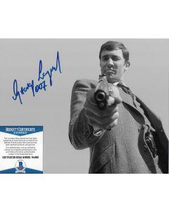 George Lazenby James Bond 007 BECKETT/COA #3