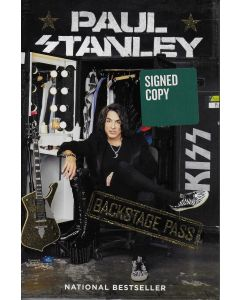 Backstage Pass BOOK signed by author Paul Stanley