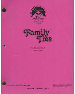 "Family Ties ""Spring Reminds Me"" 1989 Original Script"