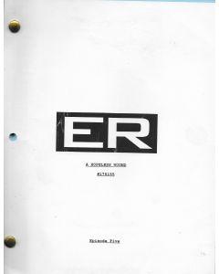 """ER """"A Hopeless Wound"""" Episode 5, Deezer D's personal Original Script"""
