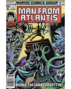 Man From Atlantis comic book signed by Patrick Duffy #7