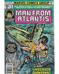 Man From Atlantis comic book signed by Patrick Duffy #3