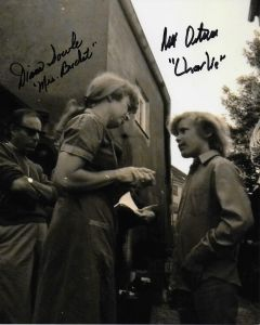 Diana Sowle (1930-2018) & Peter Ostrum Willy Wonka 8X10 #2