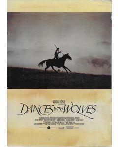 Dances with Wolves (1990) original Japanese movie program ***LAST ONE***