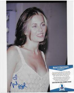 Nicole Eggert 8X10 w/Beckett COA #6