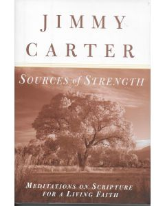 Sources of Strength BOOK - Signed by author Jimmy Carter