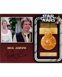 Nick Joseph Star Wars 8X10 **LAST ONE**