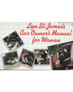 Lyn St. James's Car Owner's Manual for Women BOOK signed by author (Signature personalized to Craig)