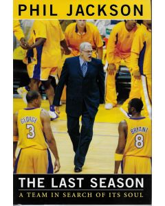 The Last Season BOOK signed by author Phil Jackson (personalized to Craig)