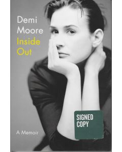 Inside Out BOOK signed by author Demi Moore