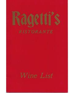 Grumpier Old Men (1995) Prop Wine List Menu B28