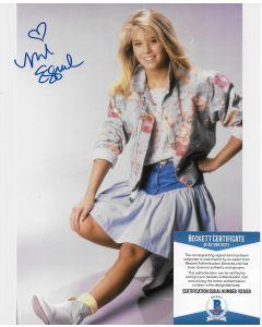 Nicole Eggert 8X10 w/Beckett COA #7