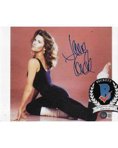 Jane Fonda 8X10 photo w/Beckett COA
