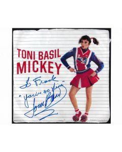 Toni Basil Mickey 8X10 (Signature personalized to Frank)