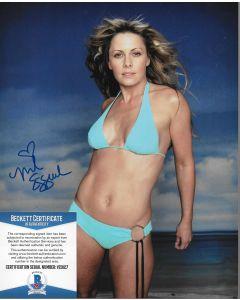 Nicole Eggert 8X10 w/Beckett COA #8