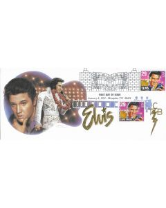 ELVIS PRESLEY OFFICIAL FIRST DAY COVER HONORING The King Limited Edition 1992 B6