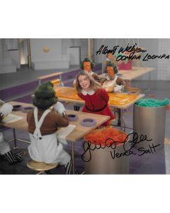 Julie Dawn Cole / Albert Wilkinson Willy Wonka 8X10