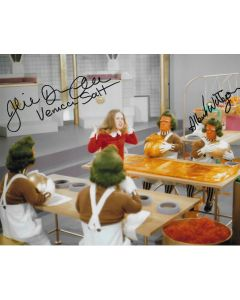 Julie Dawn Cole / Albert Wilkinson Willy Wonka 8X10 #2