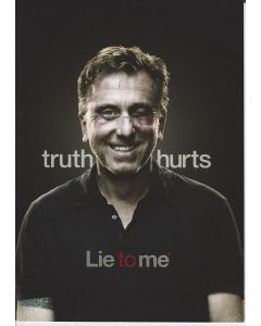 Lie To Me promo thank you card signed by Tim Roth