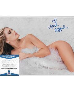 Nicole Eggert 8X10 w/Beckett COA #9