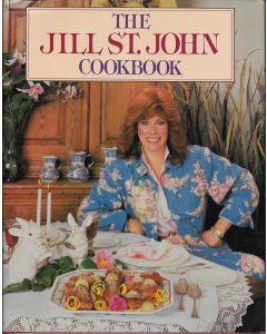 The Jill St. John Cookbook signed by author (Signature personalized to Craig)