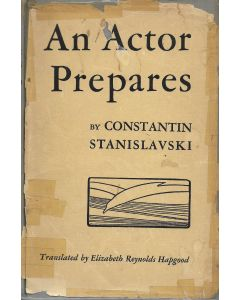 An Actor Prepares BOOK signed by Charles Boyer