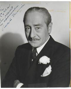 Adolphe Menjou Vintage 8X10 photo (personalized to Eylla)