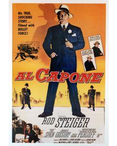 Scarface Rod  Steiger 26x38 Reprint movie Poster