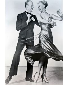 Fred Astaire &ginger Rogers 26X38 Reprint Poster