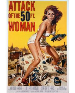 attack of the 50 foot woman 27x40 Reprint Movie Poster 1 Sheet