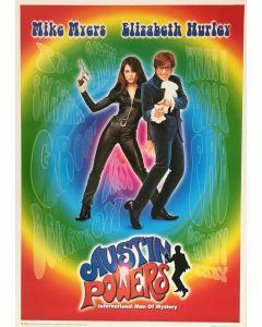 Austin Powers 23x35 Reprint Movie Poster 1 Sheet